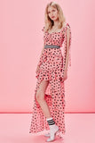 Maison Maxi Dress in Pink by For Love and Lemons