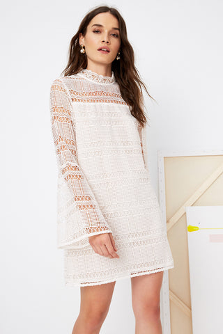 Matilda Lace Dress by Tularosa - RENTAL