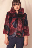 Mel Faux Fur Coat by Allen Schwartz - RENTAL