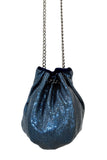 Bucket Bag in Midnight Blue by Whiting and Davis - RENTAL