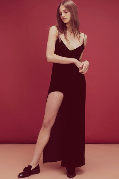 Nadine Velvet Slip Dress by For Love and Lemons