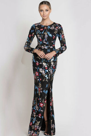 Long sleeve gown rental Canada