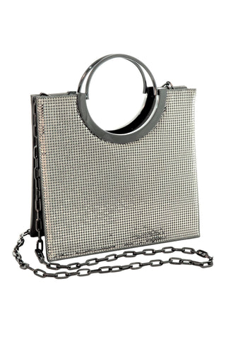 Nolita Tote in Pewter by Whiting and Davis