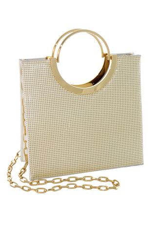 Nolita Tote in Pearl by Whiting and Davis - RENTAL