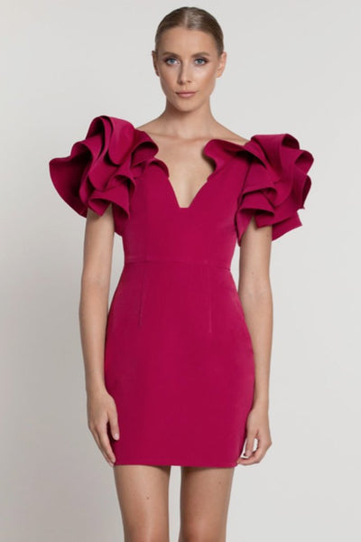 pink party dress rental toronto