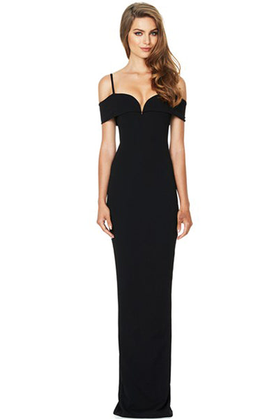 Pretty Woman Gown by Nookie in Black
