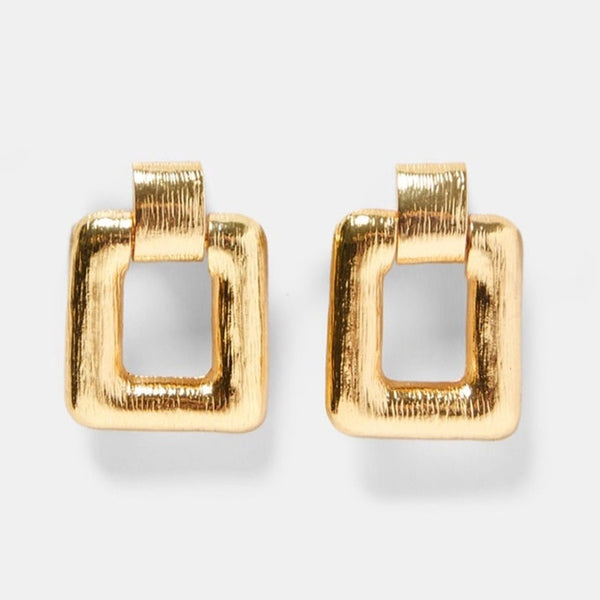 Good As Gold Accent Earrings