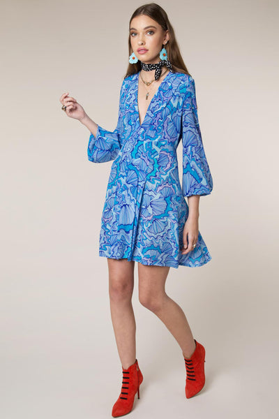 Psychedellic Shell Dress by Rixo London