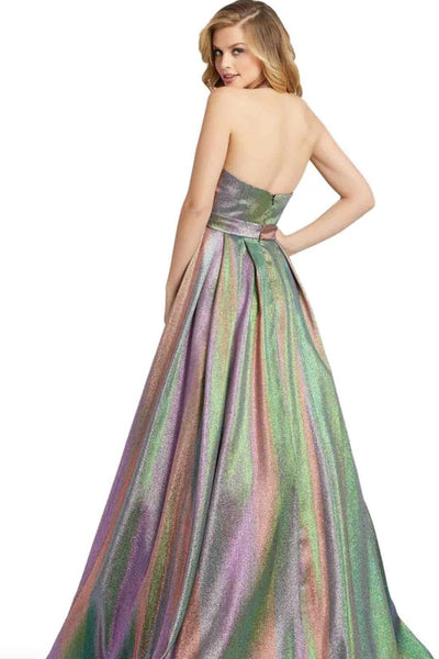 Twilight Multicoloured Ballgown by Mac Duggal - RENTAL