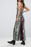 Margarita Sequin Jumpsuit by Free People - RENTAL