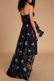 The Reveal Removable Skirt Gown by Bariano - RENTAL