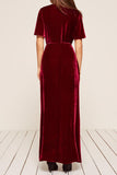 Miller Velvet Dress by Reformation - RENTAL
