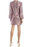 Rockets Sequin Shift Dress by ML Monique Lhuillier - RENTAL
