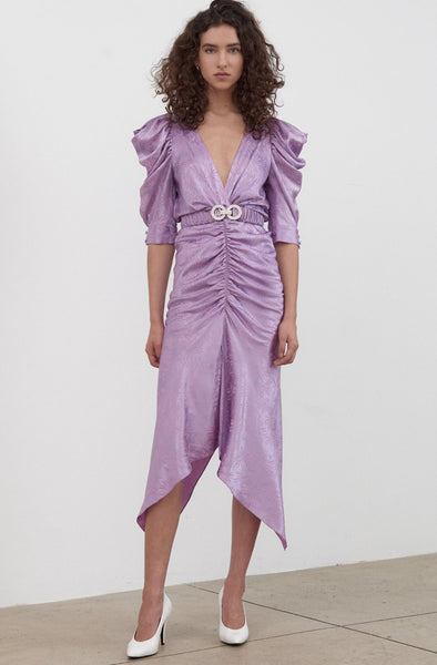 Ronny Kobo Ariana Dress Lavender