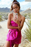 Carolanya Pink Party Dress by Ronny Kobo - RENTAL