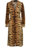 Vivienne Dress in Tiger Print by Realisation Par - RENTAL