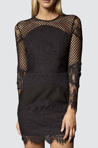 Sadie Dress in Black by Narces - RENTAL
