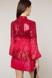 Samantha Sequin Mini Dress by Rixo London - RENTAL