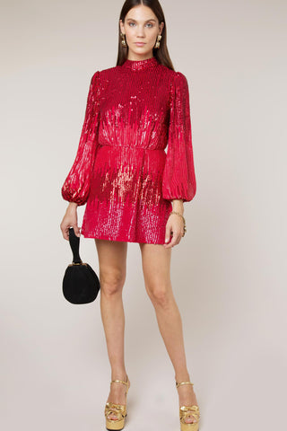 Samantha Sequin Dress Rixo London