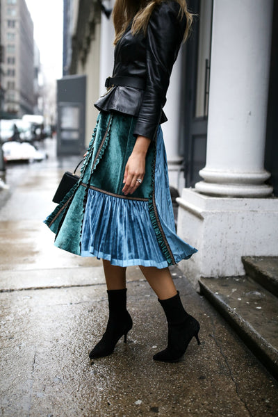 Self Portrait Dress streetstyle