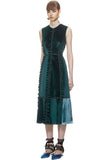 green velvet self portrait dress from The Fitzroy
