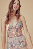 For Love and Lemons sequin Cuba Dress
