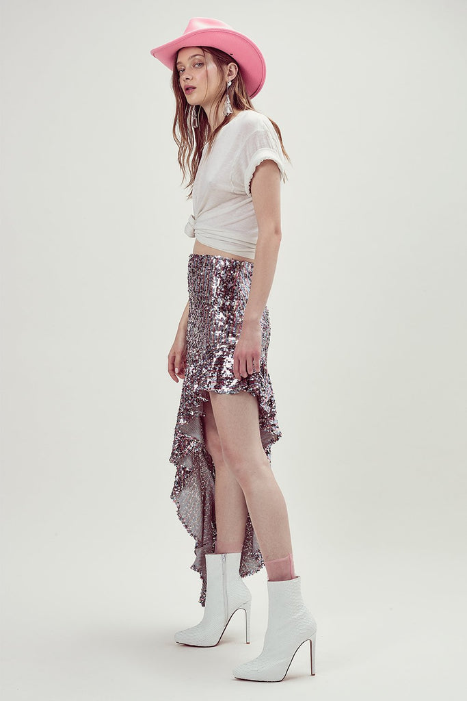 3b6ee6f9f99 ... Showtime Skirt by For Love and Lemons - RENTAL