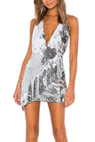Jenner Sequin Mini Dress by NBD - RENTAL