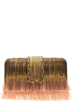 peach ombre clutch simitri designs