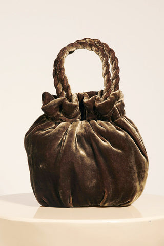 Grace Bag in Olive by STAUD - RENTAL