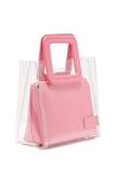 Staud Shirley Mini Bag Bag Pink Rental Canada