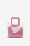 Shirley Mini Bag in Pink by STAUD - RENTAL