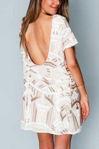 Show Me Your Mumu Sequin Party Dress Rental
