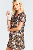 Tallulah Sequin Dress in Wallflower by Show Me Your Mumu - RENTAL