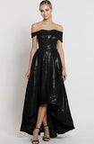 Tamia Sequin Gown Bariano