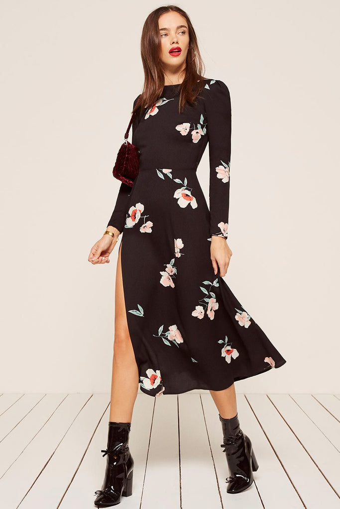 d665e9a4149 Vanessa Floral Print Dress by Reformation - RENTAL