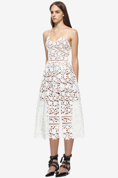 Self Portrait Azaelea Dress in white