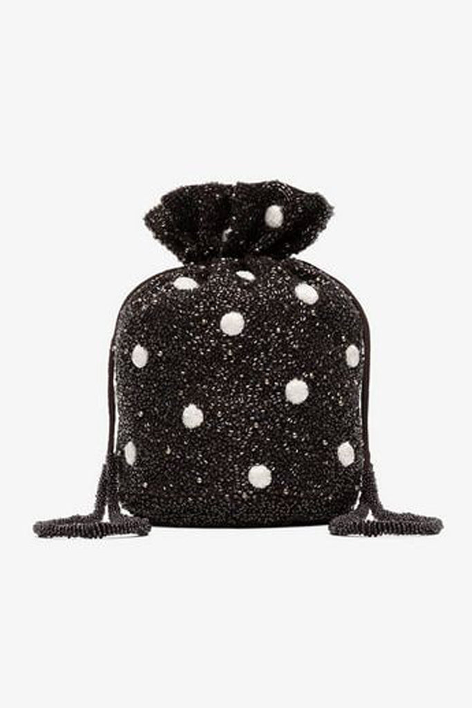 Wintour Beaded Drawstring Bag By Ganni Rental The Fitzroy