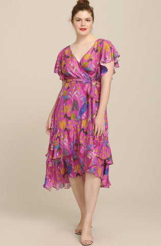 Wrap Dress Tanya Taylor Extended Sizing