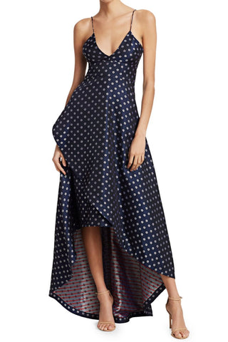 Yacht Club Midi Dress by ML Monique Lhuillier - RENTAL