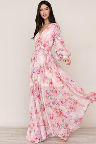 Giselle Floral Maxi in Lovers Dream by Yumi Kim