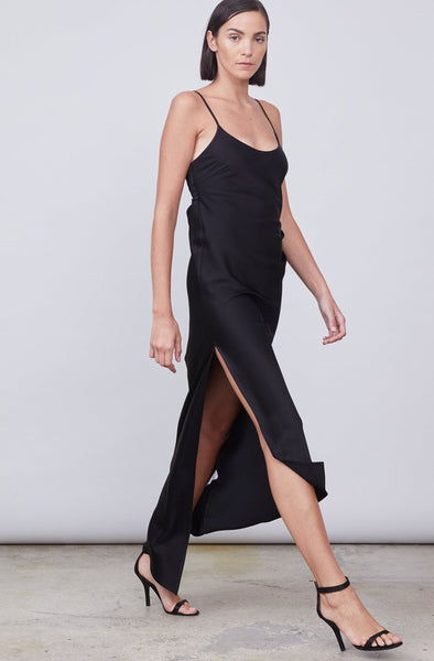 Zoe Black Slipdress by Allen Schwartz - RENTAL