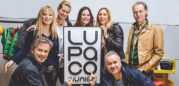 LUPACO Impressionen - LUPACO-Family: Sophie Adell, Eva Corsten, Funda Vanroy, Carin C. Tietze, Florian Richter, Timothy Peach und Thomas Darchinger