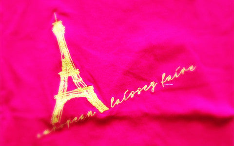 "Girls Shirt ""Eiffeltower"""