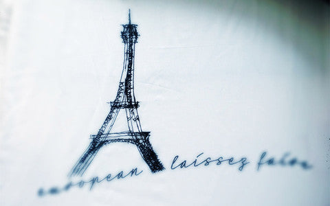 "Ladies Shirt ""Eiffeltower"""