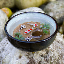 Load image into Gallery viewer, Harmony XVIII - 90mm Miniature Koi Pond