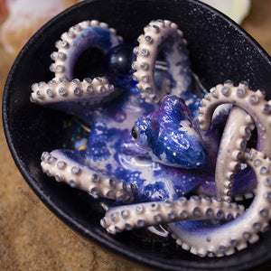 Cosmic Bathing Octopus Sculpture