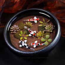 Load image into Gallery viewer, Balance VIII - 100mm Miniature Koi Pond