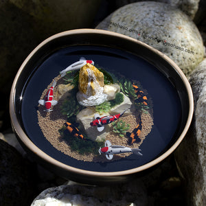 Serenity V - 120mm Miniature Koi Pond