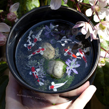 Load image into Gallery viewer, Serenity IV - 110mm Miniature Koi Pond